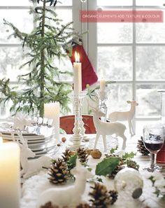 Festive tablescape