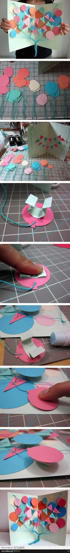 Awesome DIY Birthday Card - A Creative, Meaningful and Cheap DIY Gift for Friends and Family