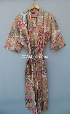 Hand Printed Fabric, Printed Cotton, Printing On Fabric, Cotton Kimono, Maxi Gowns, Summer Wear, Floral Prints, Summer Dresses, Digital Photography