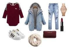 """""""today's fit"""" by fabj213 on Polyvore featuring adidas Originals, MICHAEL Michael Kors, H&M, Marc by Marc Jacobs and NARS Cosmetics"""