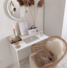 Room Ideas Bedroom, Home Decor Bedroom, Classy Bedroom Ideas, Ikea Bedroom, Decor Room, Home Office Space, Aesthetic Room Decor, Home Room Design, Design Kitchen