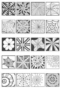 Noncatset Pdf Powered By Box Zentangle Patterns Zentangle