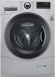 "24"" #Washer/ #Dryer Combo with 2.3 cu. ft. Capacity, 14 Wash Cycles, 4 Dry Cycles, 1400 RPM, Ventless, LoadSense, SmartDiagnosis, Lo Decibel Operation, Smart ThinQ..."