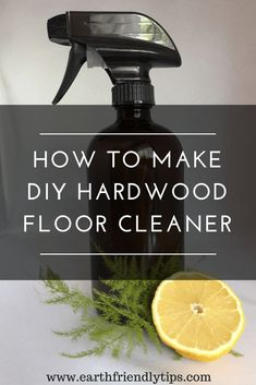 You don't have to turn to toxic chemicals to get your hardwood floors clean when you discover how to make this DIY hardwood floor cleaner. This homemade hardwood floor cleaner only requires a few simple ingredients for a natural clean. Deep Cleaning Tips, House Cleaning Tips, Natural Cleaning Products, Cleaning Hacks, Cleaning Recipes, Cleaning Checklist, Diy Products, Green Cleaning, Organizing Tips