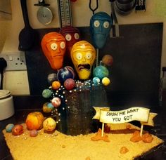 [Homemade] Rick and Morty birthday cake