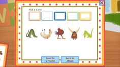 Alphabet Animals: a slide-and-peek adventure, is an enchanting picture app. Kids will learn about animals, alphabets and their shapes; by Suse MacDonald (by Auryn Apps) ($1.99) In this app, animals – from an Alligator to a Zebra – take the shapes of all the letters in the alphabet. Each animal represents a different letter
