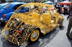 A new take on a Beetle convertible.