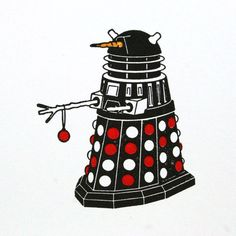 Doctor Who's Dalek Christmas Cards