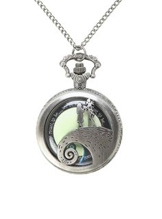 We're simply meant to be. Hot Topic - The Nightmare Before Christmas Pocket watch necklace