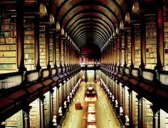 Visit Book at Kells at Old Library - Trinity College. Just found out that I am going here in Ireland!