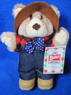 Wendy's Promo Large Lot Of Furskins Bears 10 Plush 2 Books 4 Boots & 2 Hats #WendysFurskin