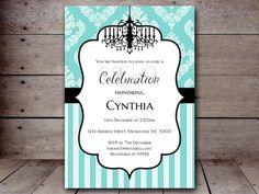 editable tiffany invitation