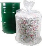 Trash Bag 25 CLEAR Large X-HEAVY Duty 38x58 Drum Liner 55 Gal 2.5 mil Body Bag - http://trashbagcoupons.com/large-kitchen-bags/trash-bag-25-clear-large-x-heavy-duty-38x58-drum-liner-55-gal-2-5-mil-body-bag/