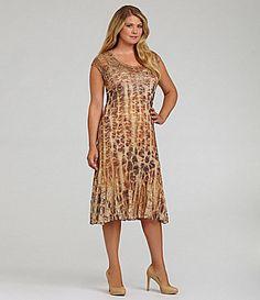c3a34c3abdc Reba Woman Lace SublimationPrint Dress  Dillards. Tanya Feazell · plus size  women