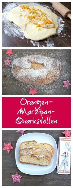 Stollen backen muss nicht kompliziert sein. Probiert mal diesen einfachen Orangen-Marzipan-Quarkstollen. Leicht in der Zubereitung, lecker im Geschmack. Weihnachten kann kommen!