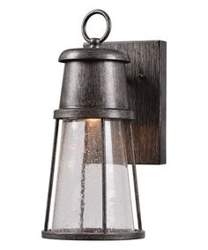 Another great find on #zulily! Harbinger LED Lantern-Style Sconce #zulilyfinds