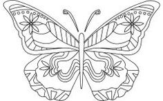 Latest Free Coloring Pages Of Butterflies Gallery