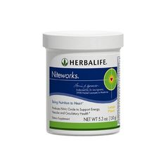 NITEWORKS - Nachtelijke voeding voor het hart. Bevat aminozuren, rijk aan foliumzuur en aan vitaminen C & E om de cellen te beschermen tegen oxidatieve stress. Meer info op www.herba365.be en op herba365.blogspot.be of mail naar info@herba365.be