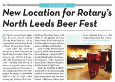 The March 2015 edition of North Leeds Life for & bringing you all the latest news and events from your local area. North Leeds Life, connecting you to the community. Beer Festival, Life Magazine, Leeds, Charity, March, Community, Events, Food, Essen