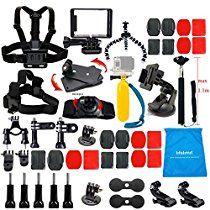 Are you confusing what brand of gopro accessory kit you want to buy? Within 5 minutes to read this article, you definitely love this Lifelimit GoPro kit. Nikon, Gopro Camera, Video Camera, Gopro Hero 4, Gopro Accessories, Photo Accessories, Photo Equipment, Samsung, Selfie Stick