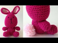 Lola The Bunny Free Crochet Pattern - Left Handed