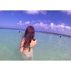 【iii_0404】さんのInstagramをピンしています。 《#🌺#沖縄 #okinawa #海 #sea #ビーチ #beach #トロピカルビーチ #夏 #summer #水着 #ビキニ #バンドゥビキニ #swimsuit #swimwear #swim #happy #instagram #instagood #写真 #カメラ #カメラ女子 #camera #phot #pic》