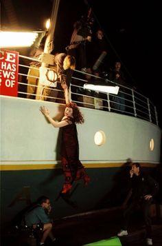 """10Fotos detrás decámaras que muestran a""""Titanic"""" desde otro ángulo"""