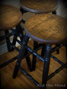 good idea for those ugly stools
