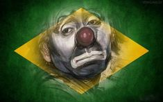 SOLARIS : O POVO FOI FEITO DE PALHAÇO - Mensagem Dachshund, Emoticon, Brazil, Humor, Painting, Fictional Characters, Twitter, Fairytale Bedroom, Brazil Flag