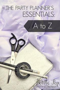 Shannanigans: Party Planner's Essentials: A to Z