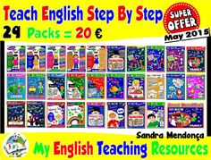 SUPER OFFER! 29 ESL TEACHING PACKS ------------- ONLY 20€ Offer available here: http://www.teachenglishstepbystep.com/packs.html Teach English Step By Step... Because teaching can be FUN!