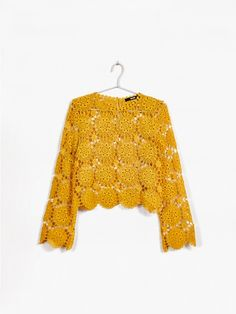 Field sweater   7177901   Gul   BikBok   Sverige