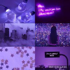 Purple x3