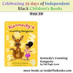 Day 26 of 29 Celebrating Black Children's Books Kennedy's Counting Kangaroo by Val Pugh-Love