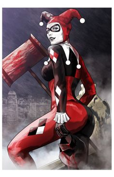 Harley Quinn by Marcus Hill