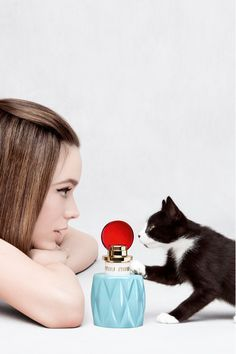 mui muifragrance ad with cat - Google Search
