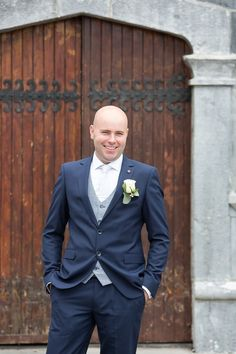 John our Groom is dressed by Menswear in Galway Wedding Flowers, Wedding Dresses, Wedding Venues, Groom, October, Suit Jacket, Menswear, Wedding Photography, Bride