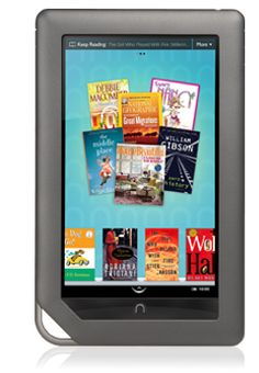 Nook Color... Love having all my books and magazines on one device