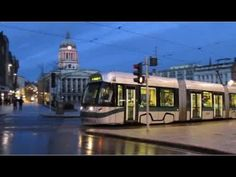 Buses Trains & Trams in Nottingham - April 2015 - YouTube