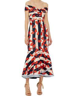Falbala Backless Bowknot Mermaid Women' Maxi Dress