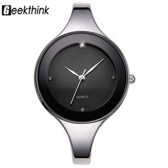 5.99$ (More info here: http://www.daitingtoday.com/geekthink-luxury-brand-fashion-quartz-watch-women-ladies-stainless-steel-bracelet-watches-casual-clock-female-dress-gift-relogio ) GEEKTHINK Luxury Brand Fashion Quartz Watch Women Ladies Stainless Steel Bracelet Watches Casual Clock Female Dress Gift Relogio for just 5.99$