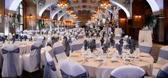 Beautiful wedding venue  Lake Louise Wedding Set Up | The Victoria Ballroom