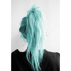 Mint Green Hair Chalk Large Salon Grade Stick Temporary Hair Color ❤ liked on Polyvore featuring beauty products, haircare, hair color and hair