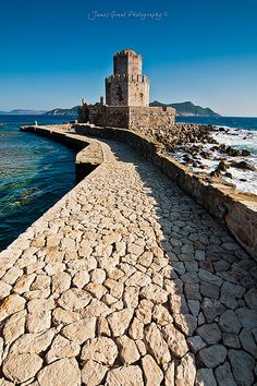 Methoni castle, a 13th Century castle in the small village of Methoni (south west Peloponnese)