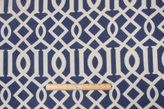 Fabric by the Yard :: Richloom Kirkwood Printed Poly Outdoor Fabric in Admiral $4.95 per yard - Fabric Guru.com: Fabric, Discount Fabric, Up...