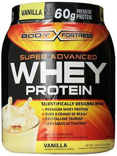 Body Fortress Whey Protein Powder, Vanilla, 31.2 Ounces (885g)  (Pack of 2)