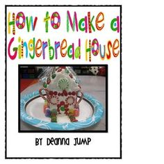 Gingerbread Fun Classroom activities for kindergarten with a free file. Christmas math, literacy, crafts, and more! Kindergarten holiday play ideas too! Make A Gingerbread House, Christmas Gingerbread, Gingerbread Stories, Holiday Crafts, Holiday Fun, Holiday Ideas, Holiday Decor, Winter Christmas, Christmas Ideas