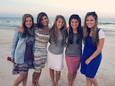 Some of the Bates girls recently took a trip to the beach