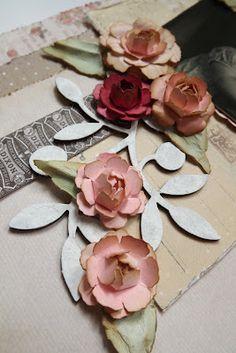 Live The Dream: Rosebud Flower Tutorial