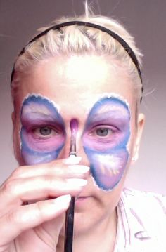 How to Face Paint a Butterfly: 21 Steps (with Pictures) - wikiHow